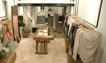 Interior of Laundromat boutique, Istanbul