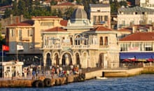 The pier at Buyukada, Princes Islands, Istanbul