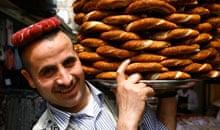 Simit bread seller, Istanbul