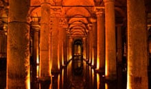 Interior of the Basilica Cistern, Istanbul