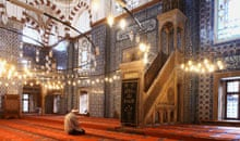 Rustem Pasha mosque interior
