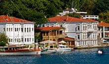 Istanbul Bosphorus coastline