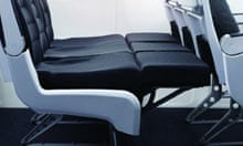 Extended seat on Air New Zealand