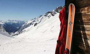 Snowbard in St. Anton