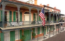 Exterior of Soniat House, New Orleans