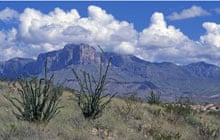 El Capitan peak in Guadalupe Mountains