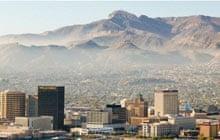 Skyline of El Paso Texas