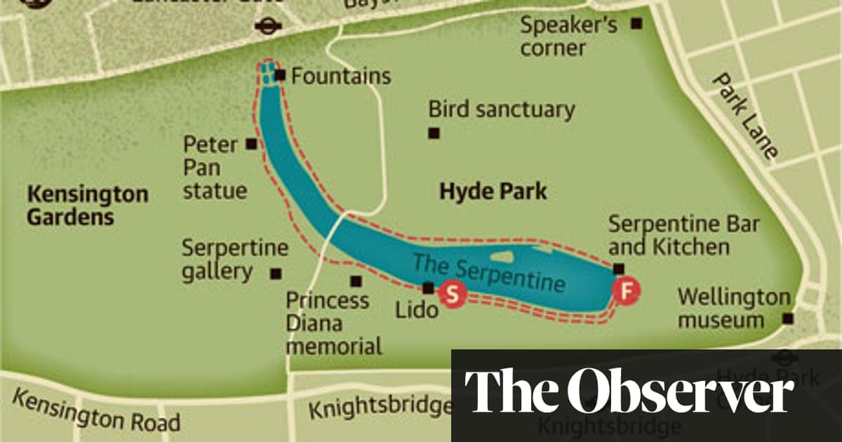 Hyde Park London Map Walking route: Hyde Park, London   Travel   The Guardian