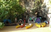 Camping on Koh Penak, Thailand