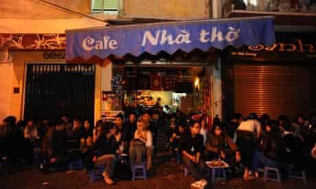 Cafe Nai Tho, Hanoi, Vietnam