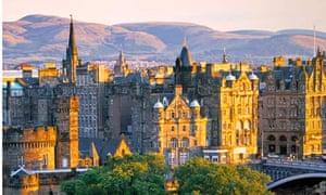 Skyline, Edinburgh, Scotland