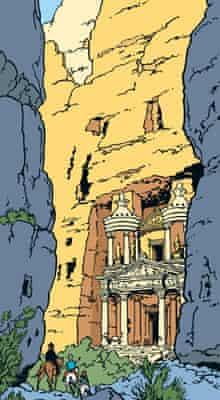 Tintin in Jordan