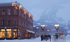Aspen in the winter.