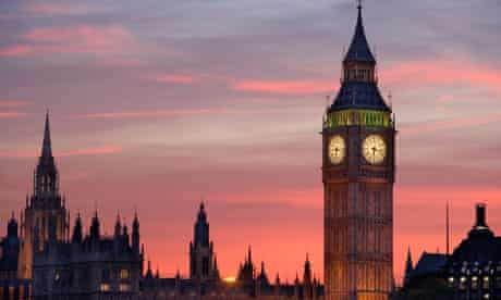 Big Ben and the House of Parliament at sunset, London