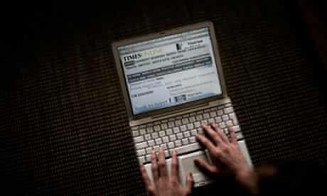 times-website-laptop