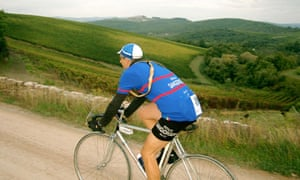 Eroica retro cycling race in Italy
