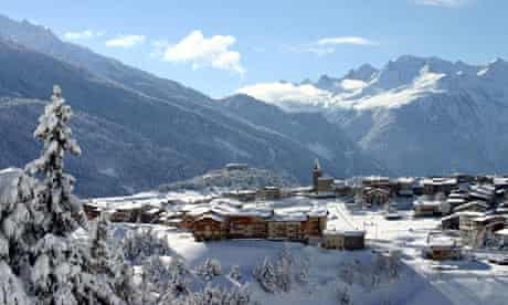 The village of Aussois in the French Alps.