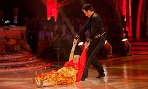 Ann Widdecombe on Strictly Cine Dancing