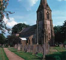 St Peter's Church, Parwich, Derbyshire