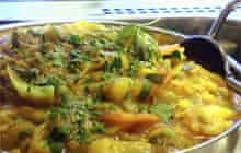 Curry at Bombay Bites, Leicester
