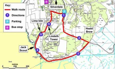 Ten Top Uk Winter Walks Silverdale Lancashire Travel The