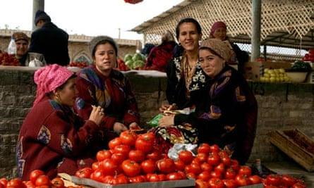Khiva Market Scene