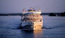 Cruise Ship on Volga River