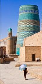 Uzbekistan, Khiva walls