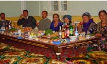 Uzbekistan banquet