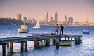 Perth skyline, Western Australia