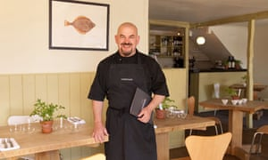 Mat Follas at his The Wild Garlic restaurant and hotel