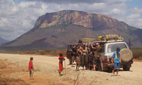 Stopping on the Great North Road, northern Kenya