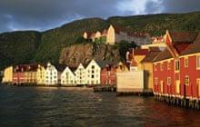 Harbour-front houses in Bergen, Norway