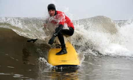 Surfing, Scarborough, Cayton Bay