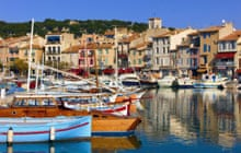 Cassis harbour.