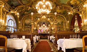 Le Train Blue Restaurant, Paris