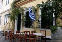 To Kafeneio restaurant, Plaka, Athens, Greece