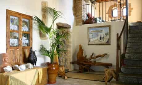 Cool interiors at Can Gall, Ibiza.
