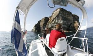 Bressay and Noss Shetland islands