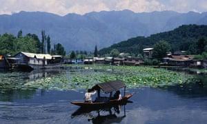 Boating on Dal Lake, Srinagar, Kashmir