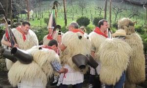 Basque Joaldunak festival
