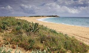 El Palmar beach, near Cabo Trafalgar.