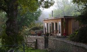 Hafod Glan Gwy cottage, Wales