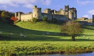 Alnwick Castle, Alnwick, Northumberland, England