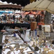 Belford flea market, France