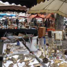 Belford flea market, France