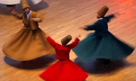 Dance of the whirling dervishes, Konya, Turkey
