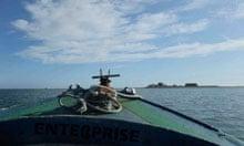 Piel Island from the ferry, Cumbria
