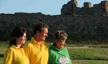 The Royal Family on Piel Island, Cumbria