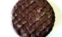 McVitie's chocolate Hob Nob, biscuit